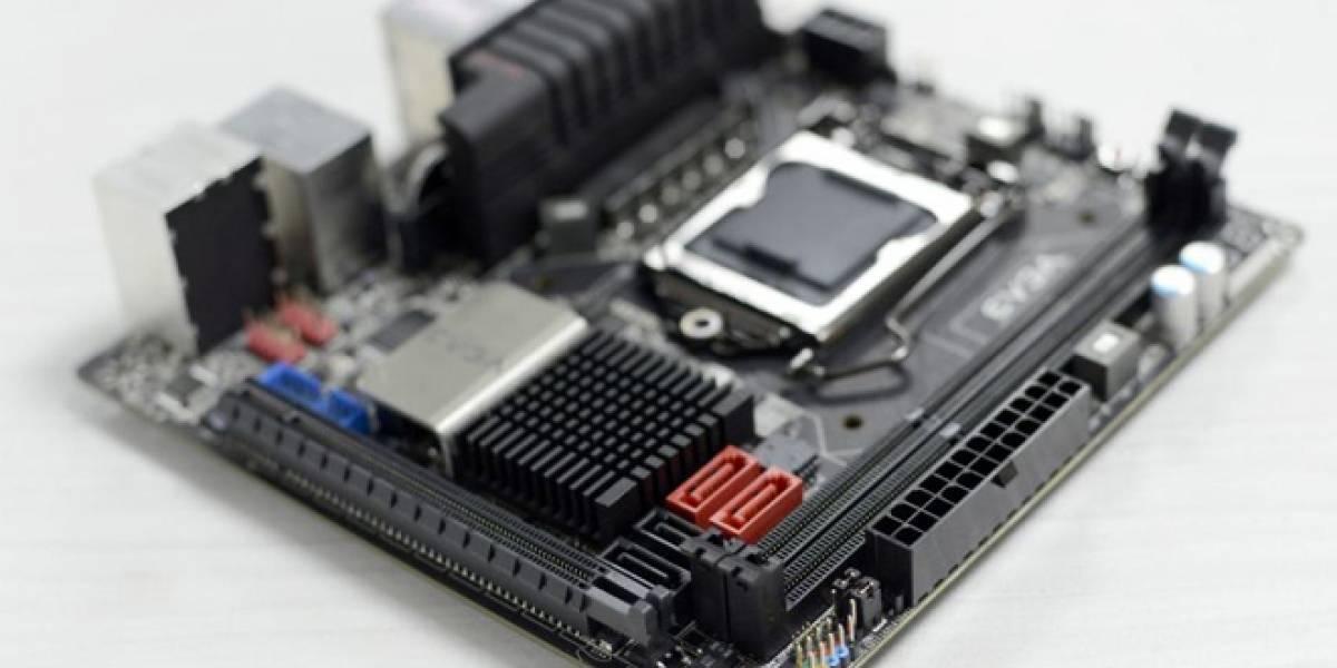 EVGA muestra placa madre mini-ITX lista para el overclock