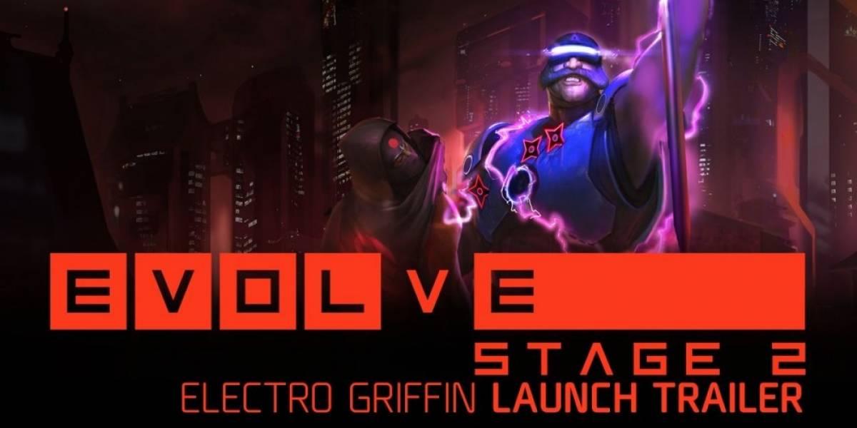 Conozcan a Electro Griffin, el nuevo Cazador de Evolve Stage 2