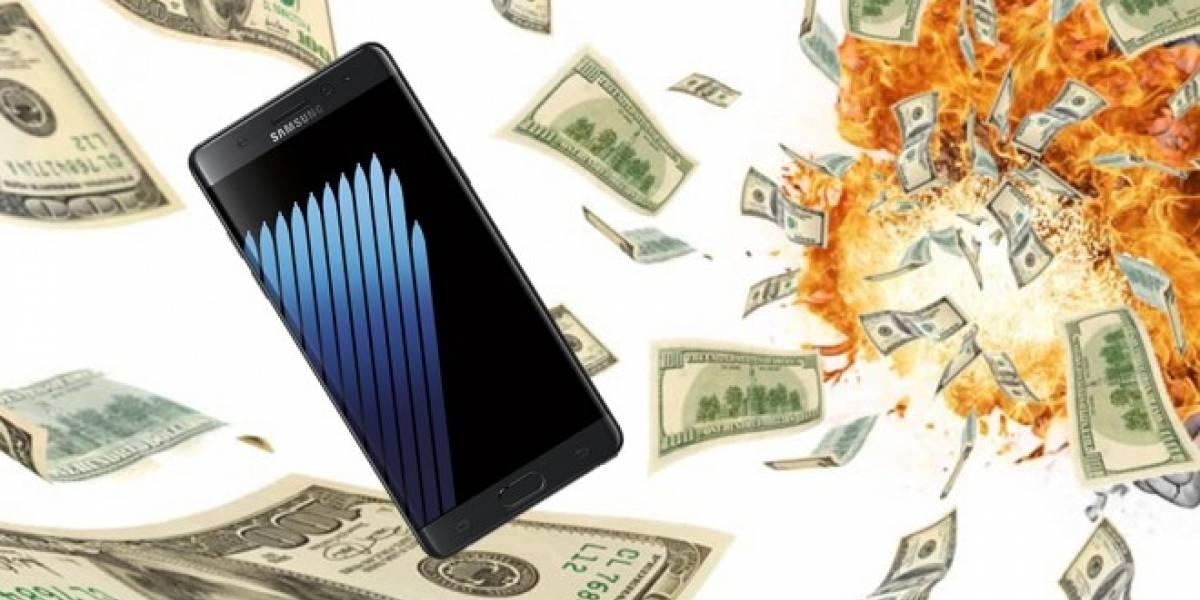 Samsung ofrecerá USD $100 en crédito si cambias tu Note 7 por otro equipo