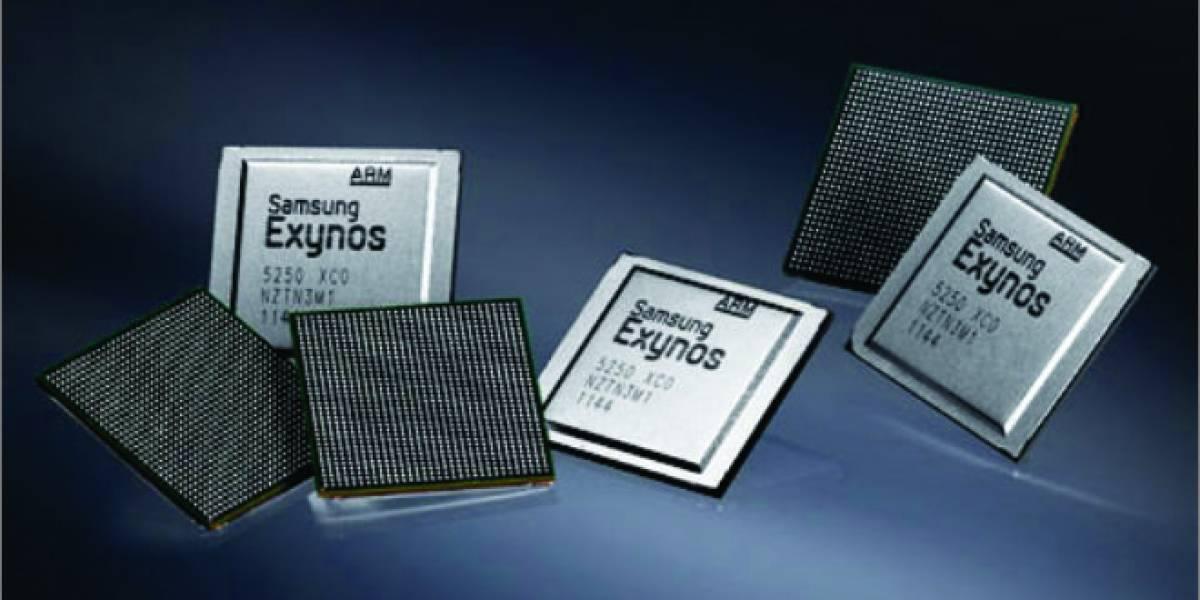 Samsung anuncia su microprocesador Exynos 5250