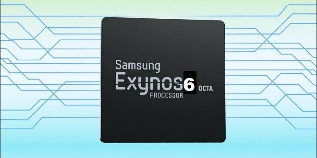 Samsung alista su SoC Exynos 6 Octa 64