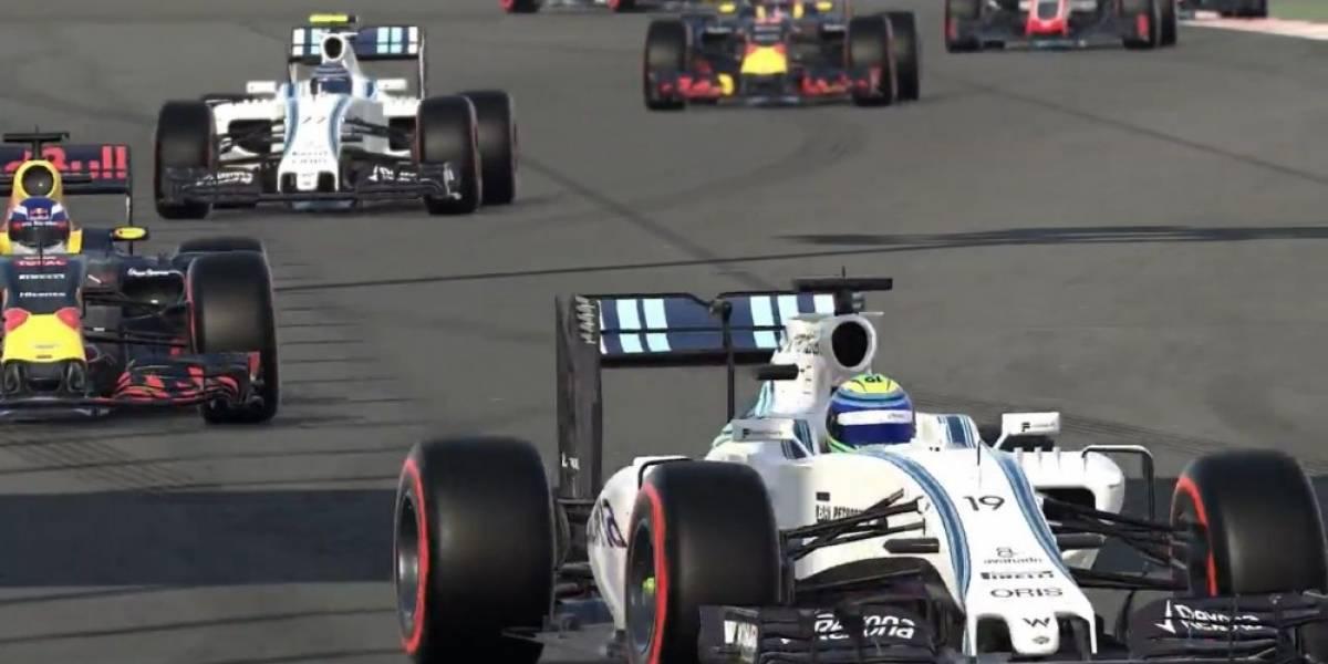 Nuevo tráiler de F1 2016 nos muestra el Modo Carrera