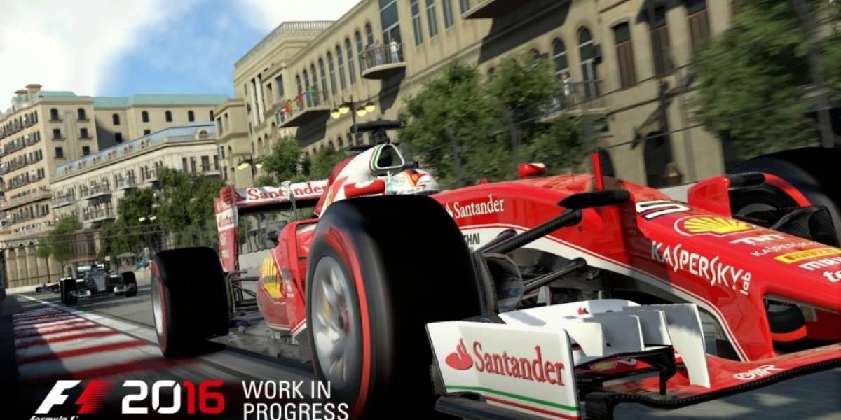 F1 2016 recibe fecha de lanzamiento y primer video con jugabilidad