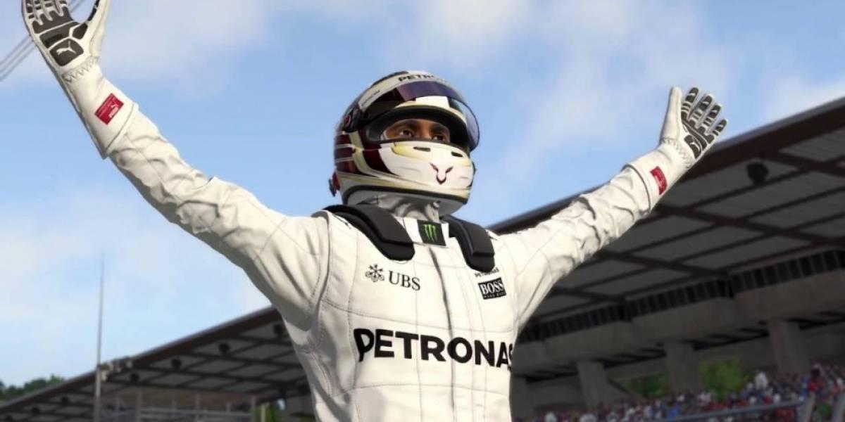 F1 2016 estrena inspirador tráiler cinemático