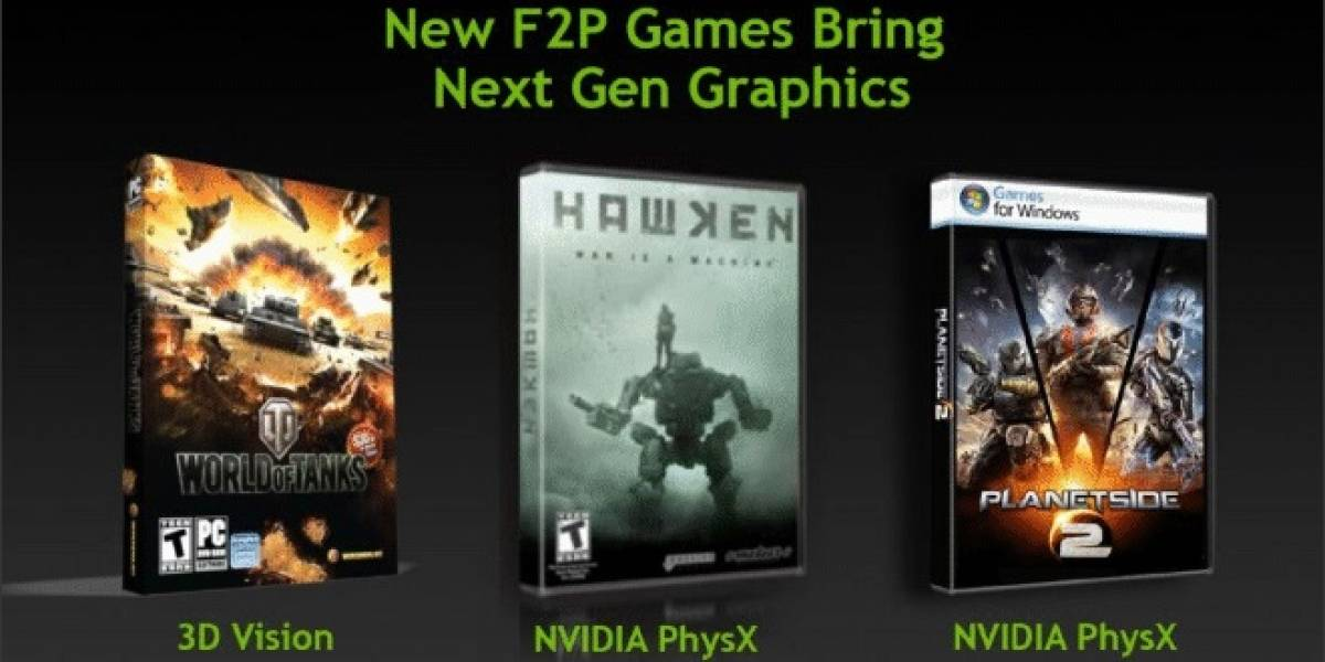 "NVIDIA responde a AMD ""Never Settle Realoaded"" con su promoción Free 2 Play (F2P)"