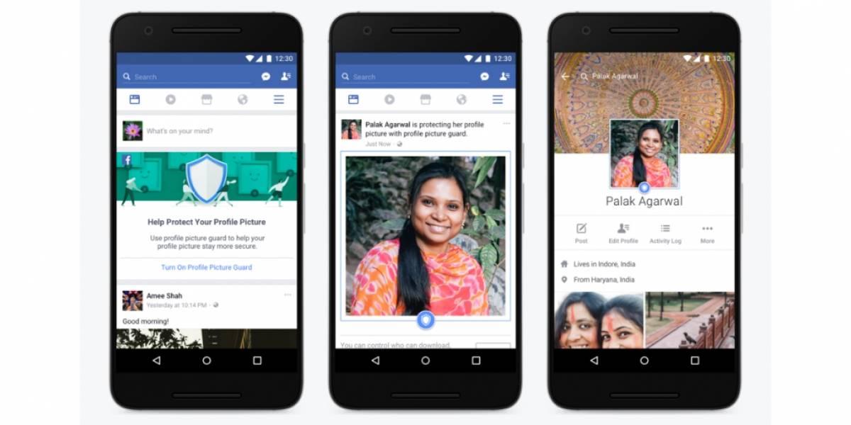 Facebook quiere proteger las fotos de perfil
