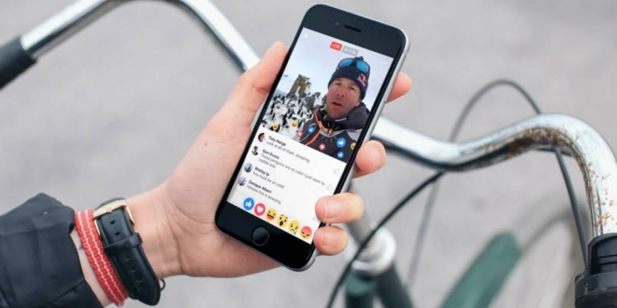 Facebook Live permitirá pronto transmisiones con filtros de MSQRD