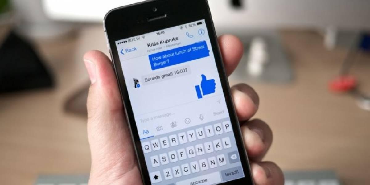 Ahora puedes realizar videollamadas dentro de un chat de texto en Facebook Messenger