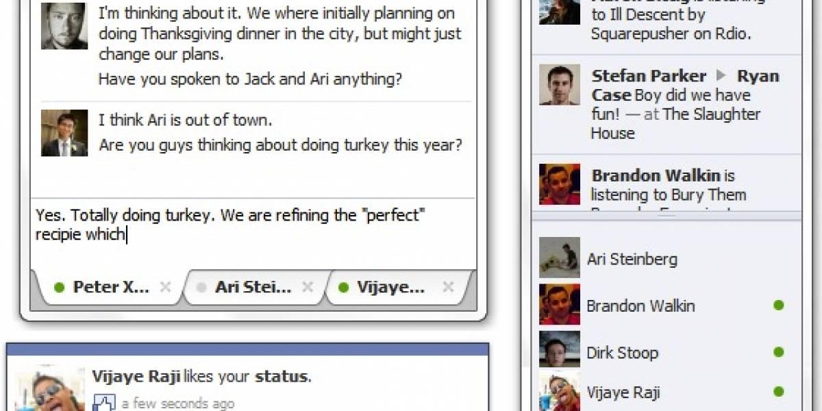Facebook crea su propia aplicación Messenger para Windows 7