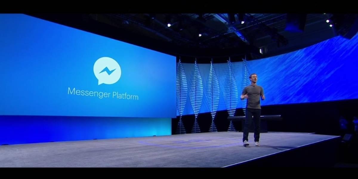 Facebook anuncia plataforma para crear bots de Messenger