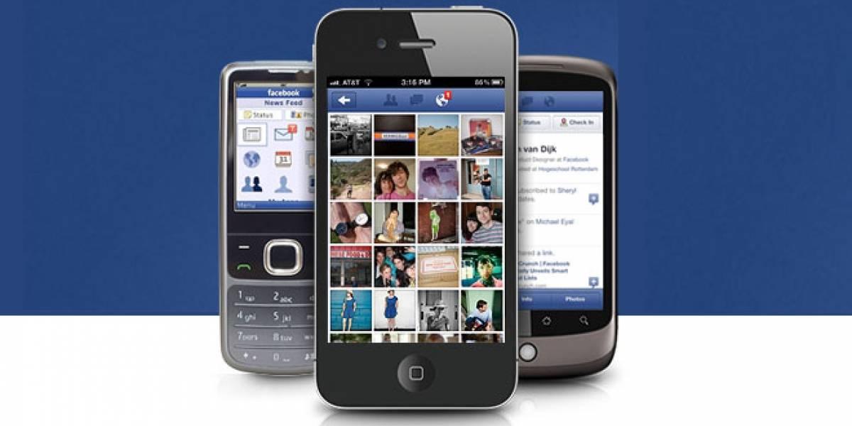 Facebook prueba una nueva estrategia de publicidad móvil