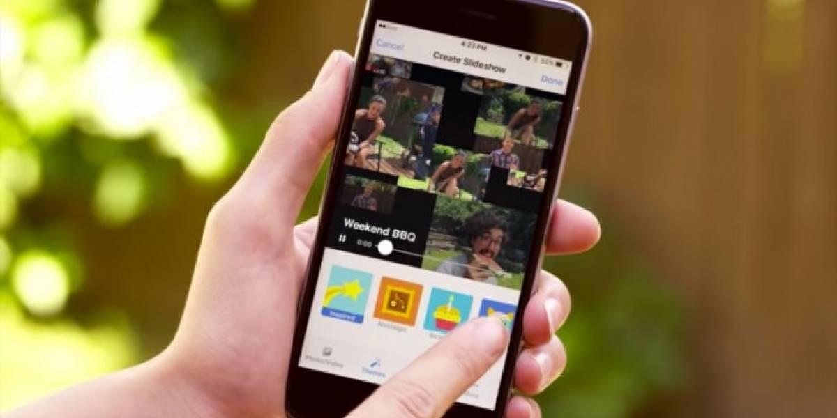 Facebook Slideshow crea videos animados con tus fotos