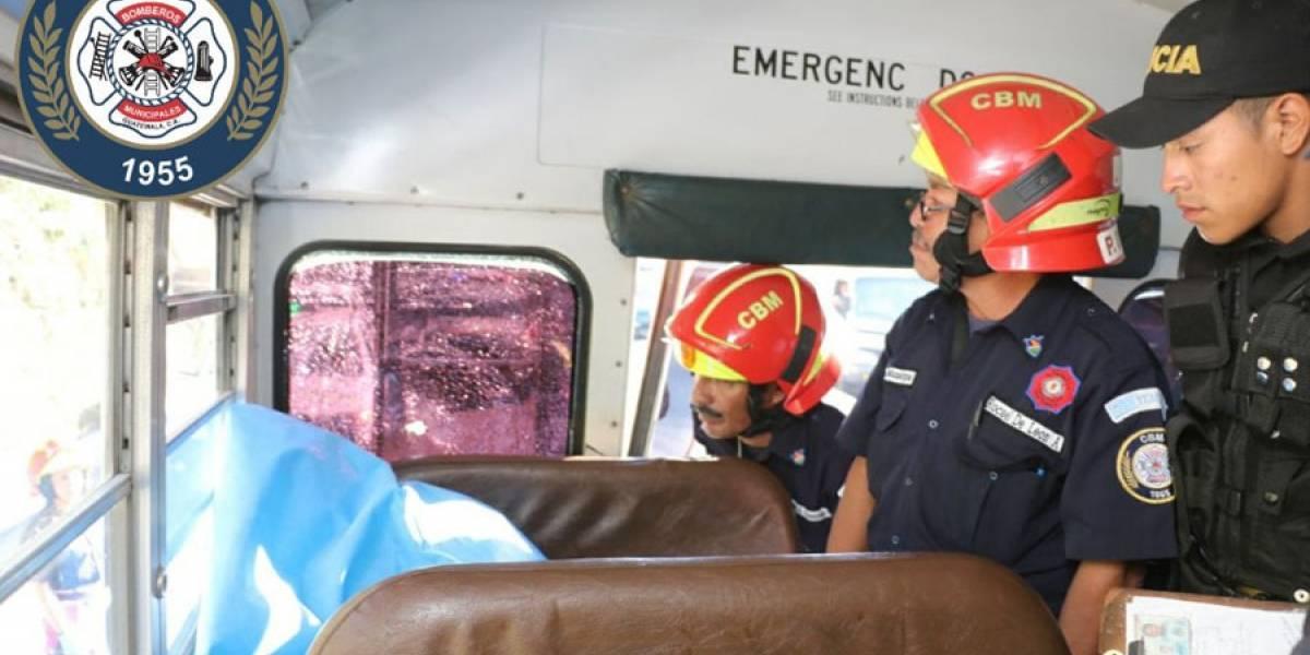 Ataque armado en interior de bus extraurbano deja un muerto