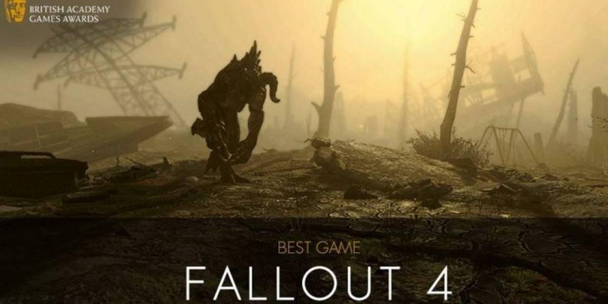 Fallout 4 es elegido el Juego del Año en los Premios BAFTA