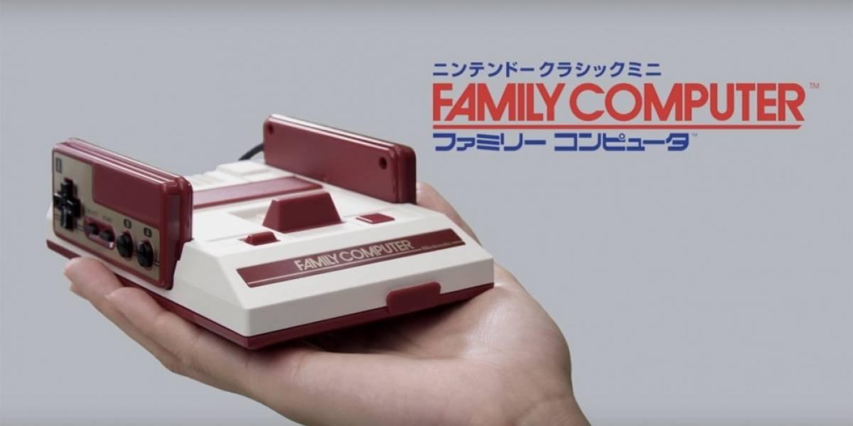 Nintendo tiene un mensaje para los que hackeen la Famicom Mini
