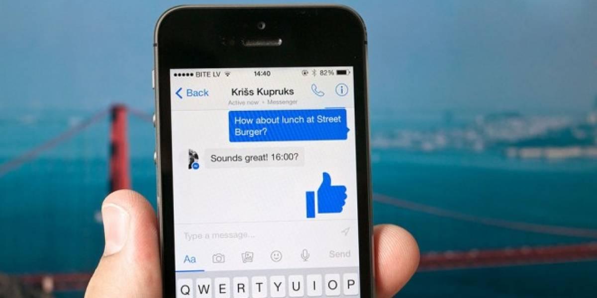 Facebook Messenger ahora te deja contectar con personas sin agregarlos a Facebook