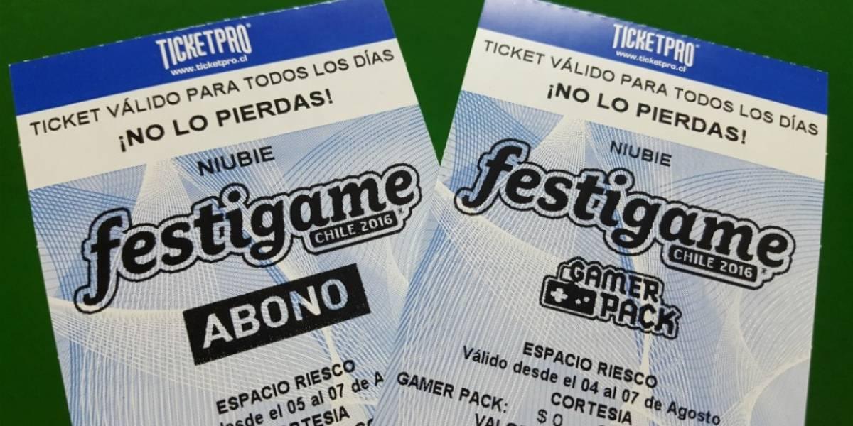 ¡Concurso! Niubie te regala entradas para Festigame 2016