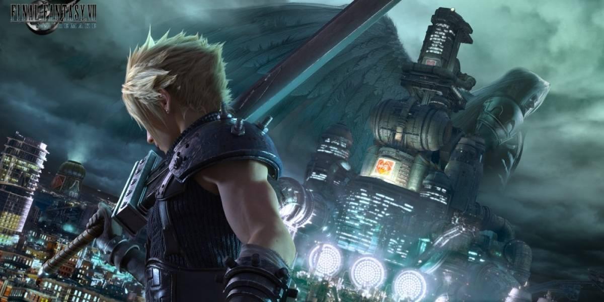 Vean el nuevo arte de Final Fantasy VII Remake