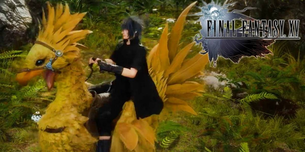 Vean dos minutos de chocobos en Final Fantasy XV
