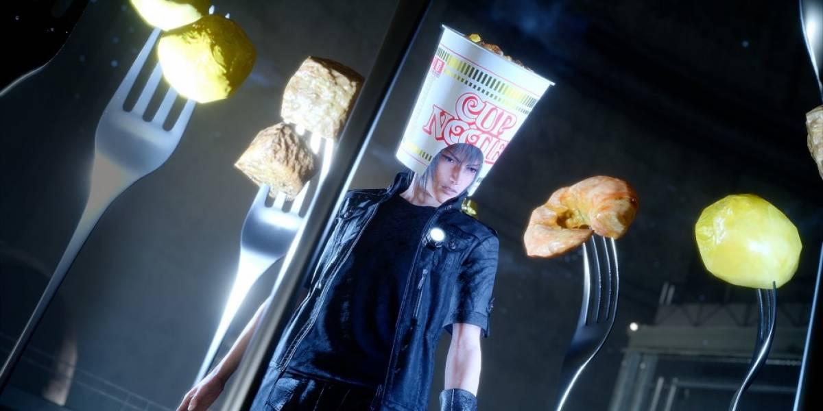 Final Fantasy XV recibirá un sombrero de sopa insantánea como DLC