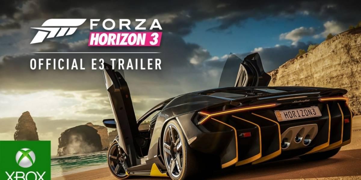 Forza Horizon 3 es oficial, ambientado en Australia #E32016