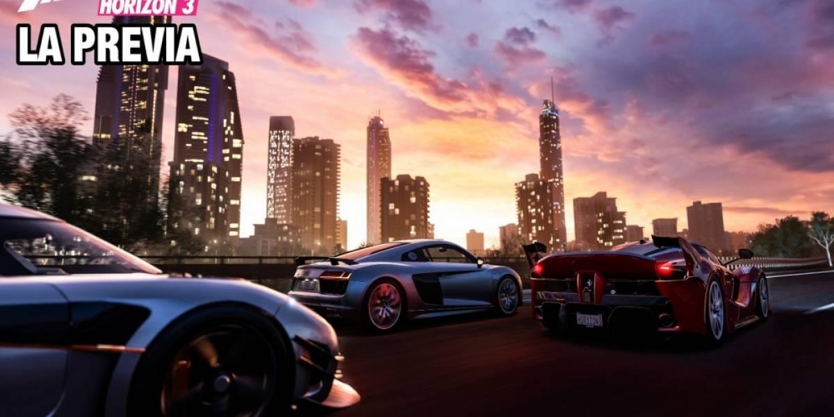 La Previa: Forza Horizon 3