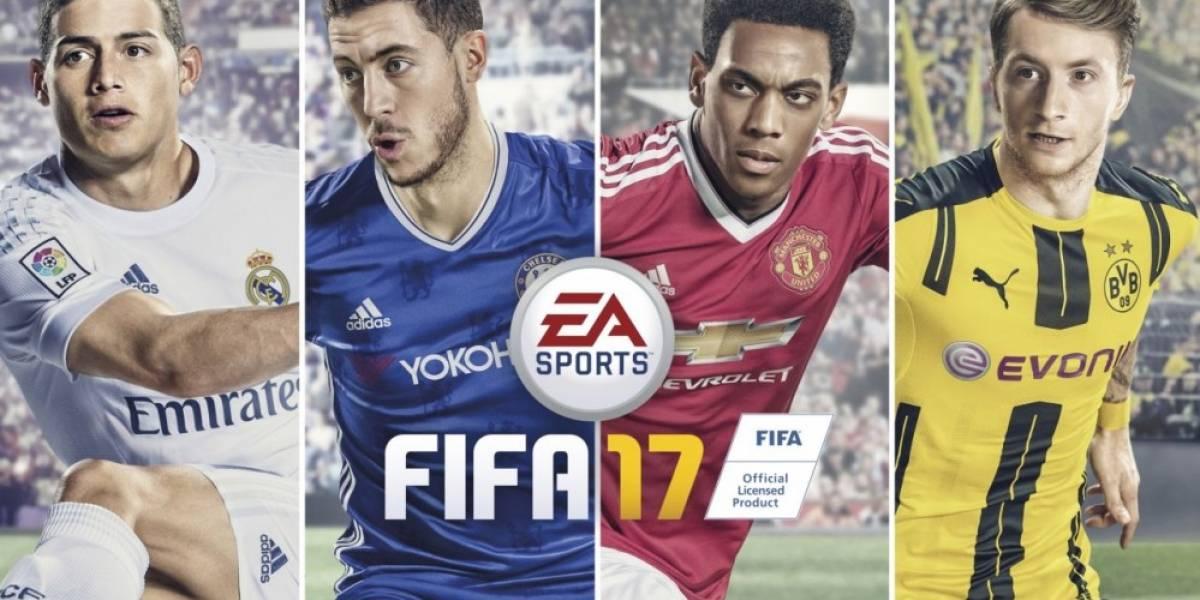 FIFA 17 llegará pronto a EA/Origin Access