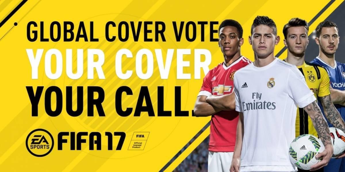 Voten por el futbolista para la portada de FIFA 17