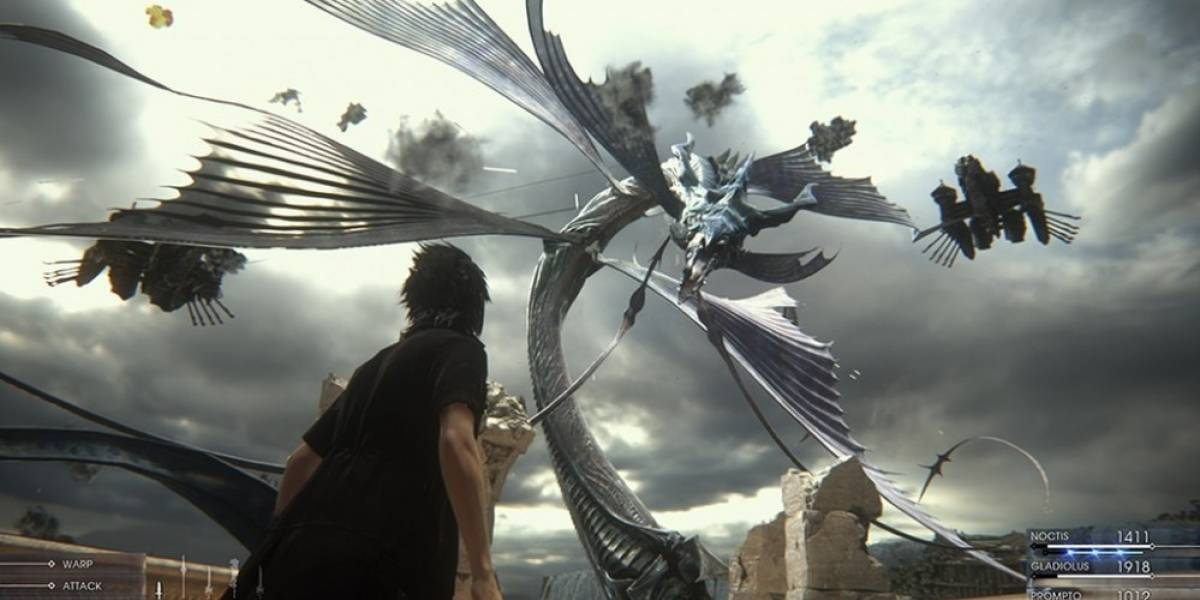 Mira media hora del gameplay de Final Fantasy XV