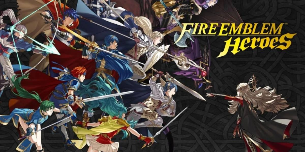 Fire Emblem Heroes ya está disponible en algunas regiones