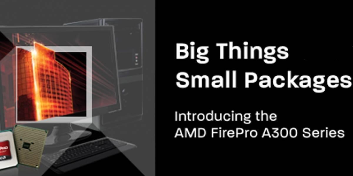 Por primera vez AMD añade dos APU a su línea profesional FirePro