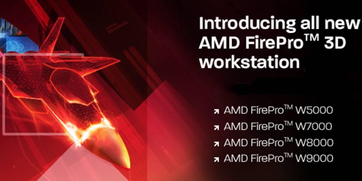 AMD también actualiza su línea de tarjetas de video dedicadas FirePro
