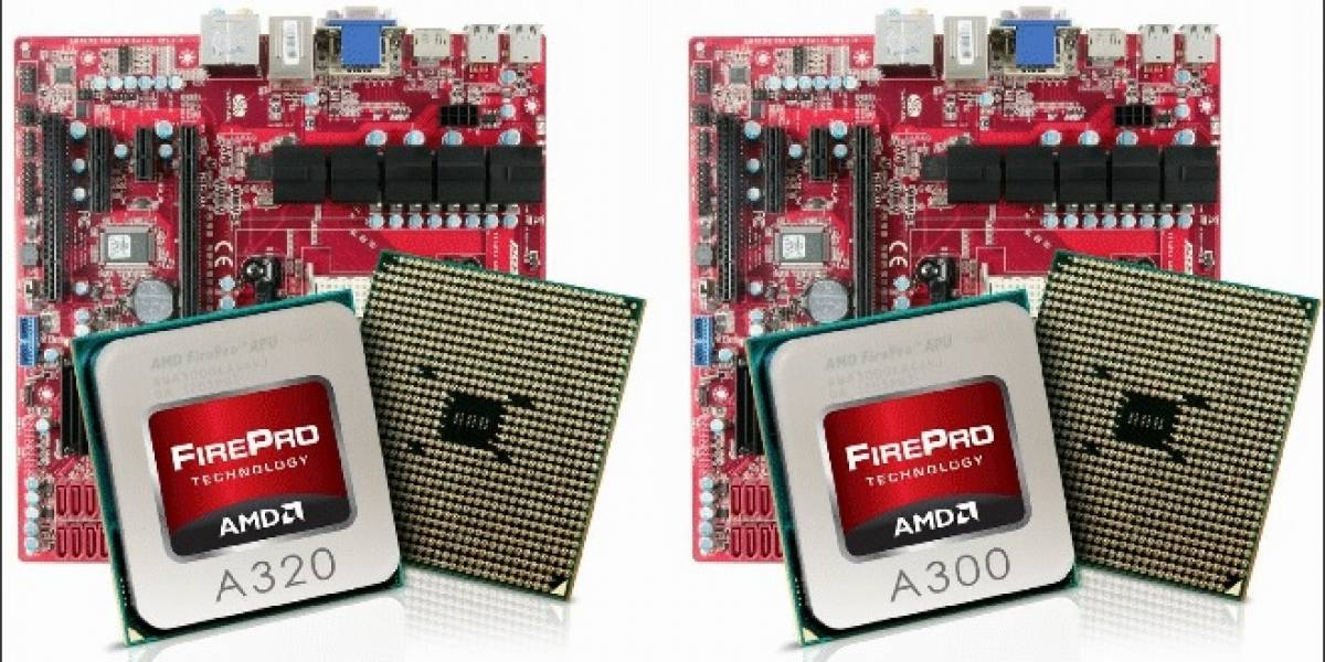 APUs AMD FirePro ya disponibles
