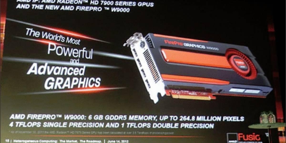 Se filtran algunos datos de los GPUs AMD FirePro W Series para estaciones de trabajo