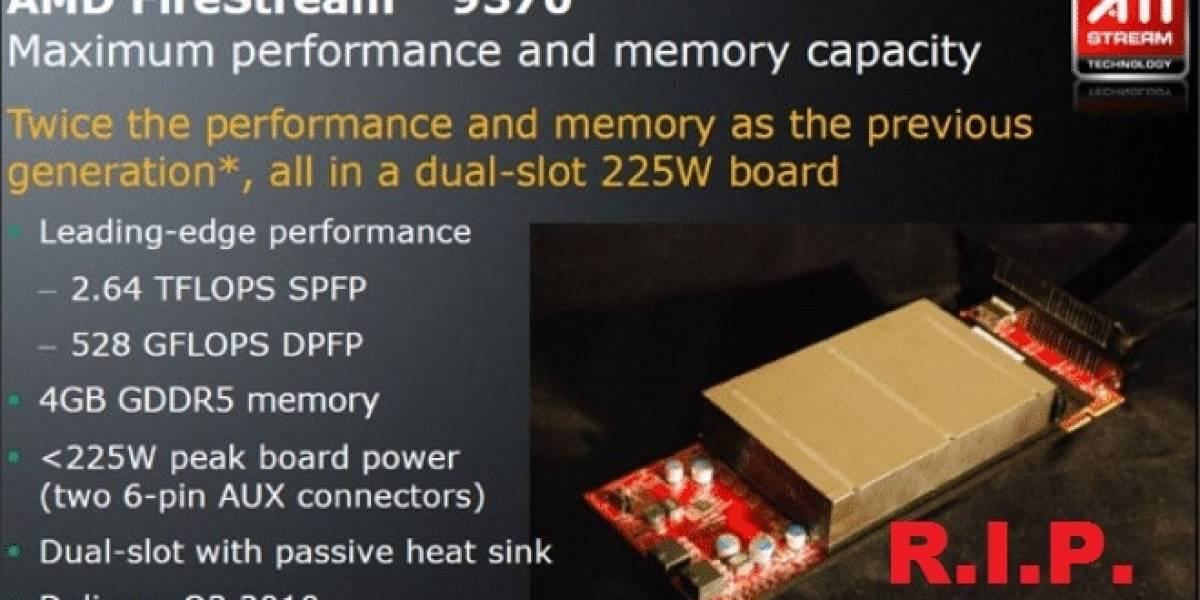 Adiós FireStream: AMD FirePro W-Series unifica sus líneas de productos