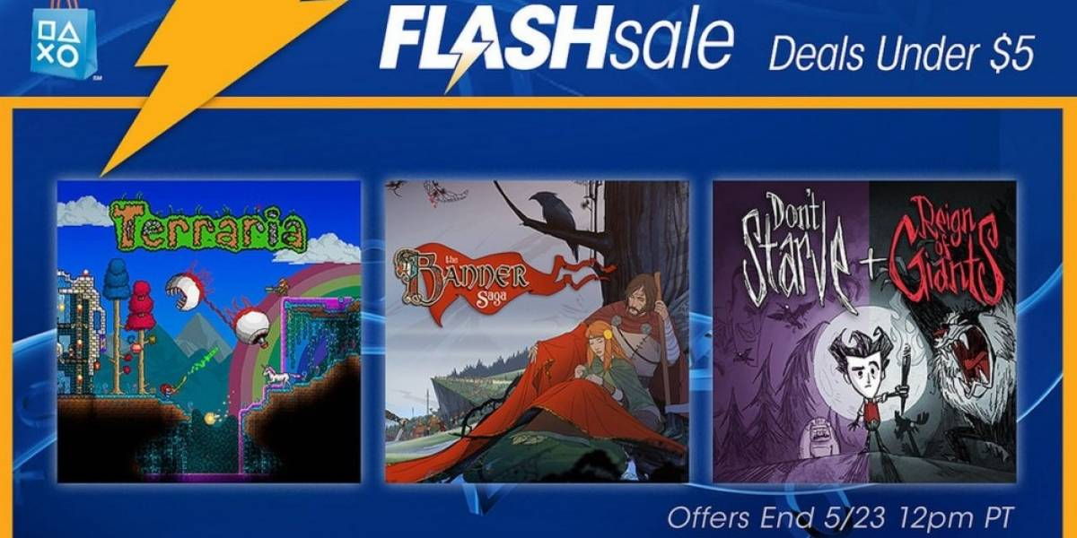 Venta Relámpago en PSN ofrece juegos en menos de USD $5