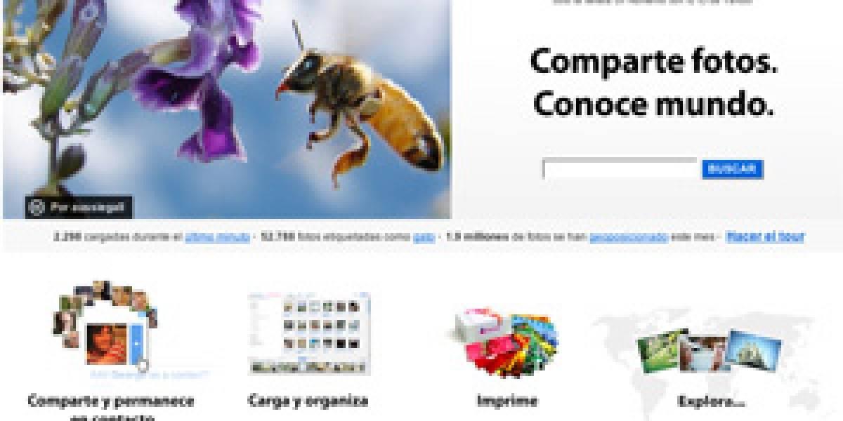 ¡Finalmente Flickr en Español!