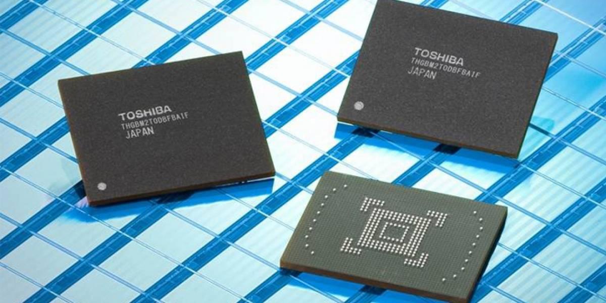 Toshiba reducirá hasta por un 25% el precio de las memorias flash NAND
