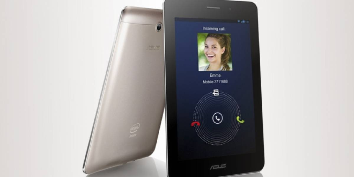 """MWC13: ASUS presenta el FonePad, la tableta de 7"""" que llama por teléfono"""