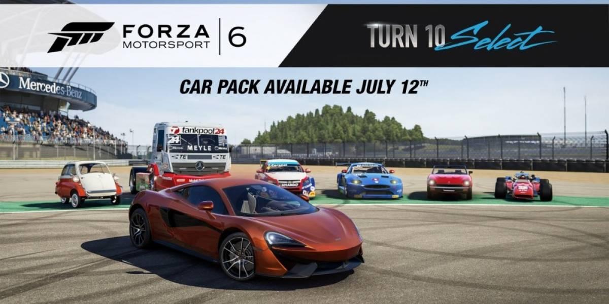 Forza 6 recibe nuevo paquete de vehículos bastante variados