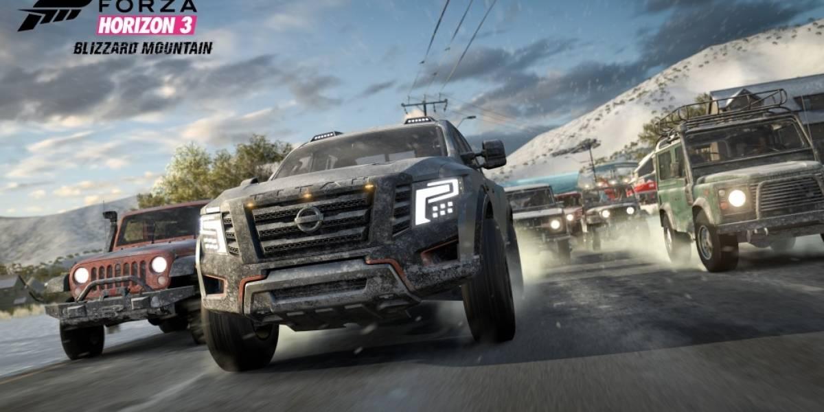 Ya está disponible la primera expansión de Forza Horizon 3