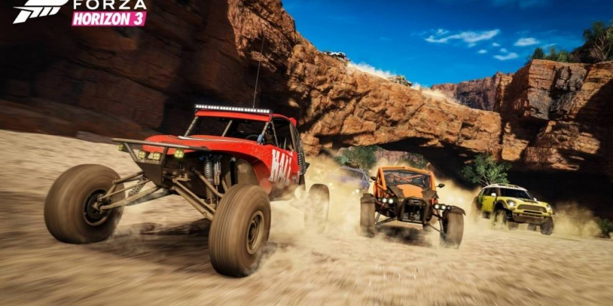 Forza Horizon 3 recibe tráiler de lanzamiento