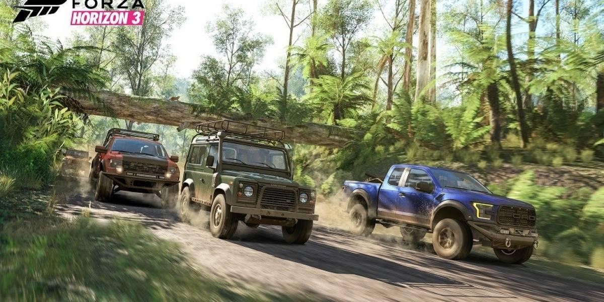 Este video compara las gráficas de Forza Horizon 3 en Xbox One y PC