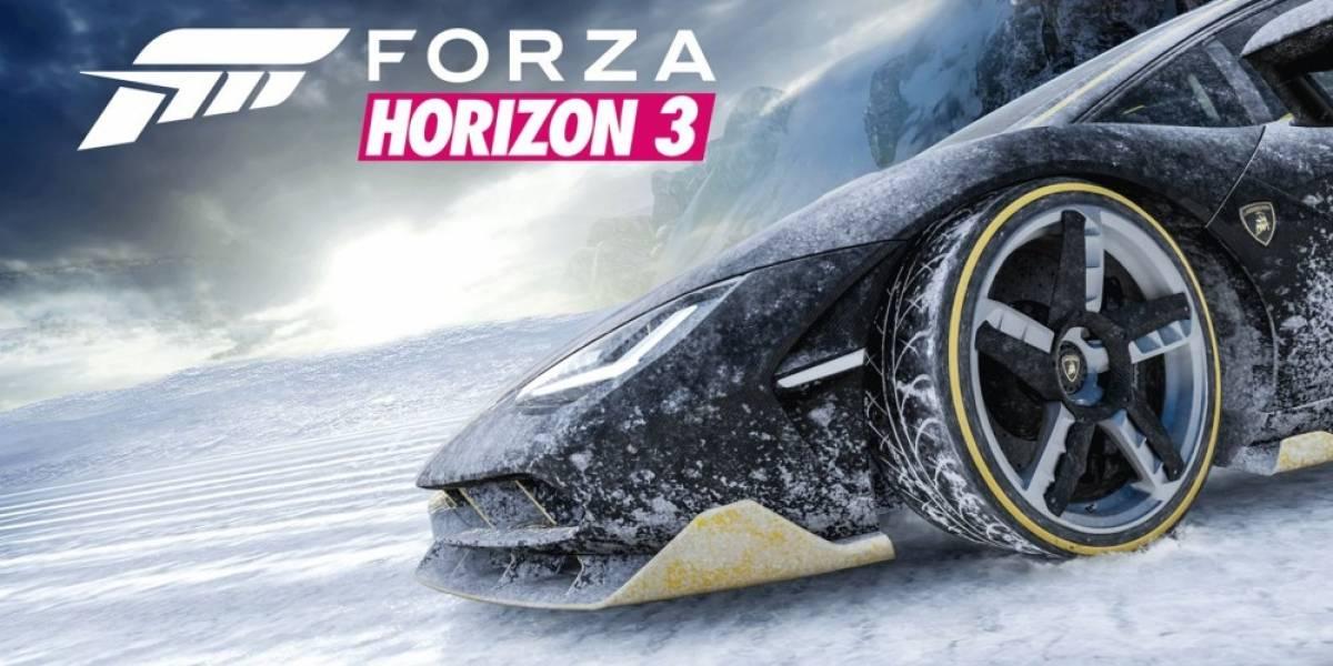 Publican teaser de la expansión de Forza Horizon 3, se viene el Invierno