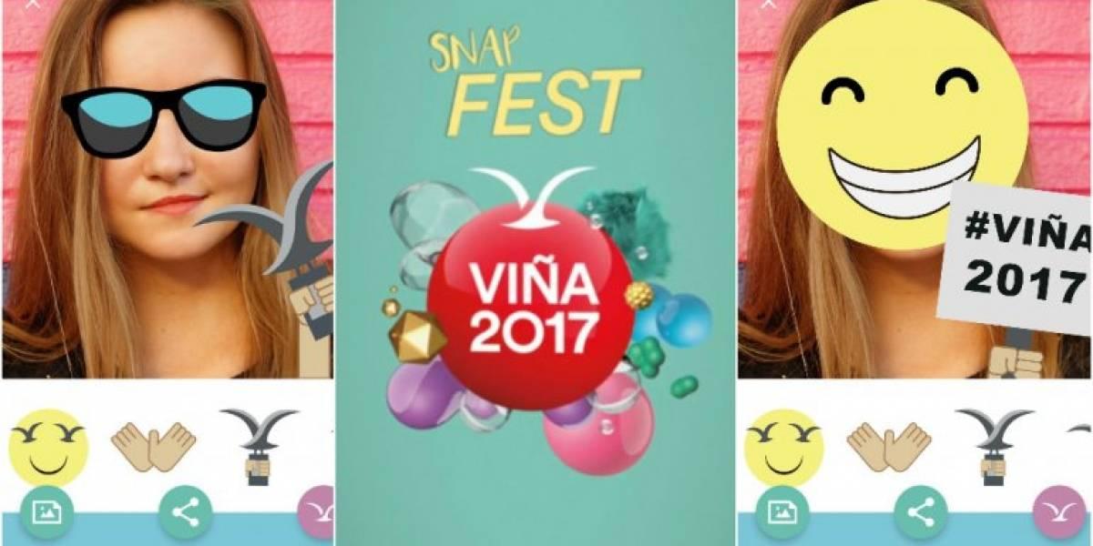 El Festival de Viña lanza aplicación con stickers temáticos