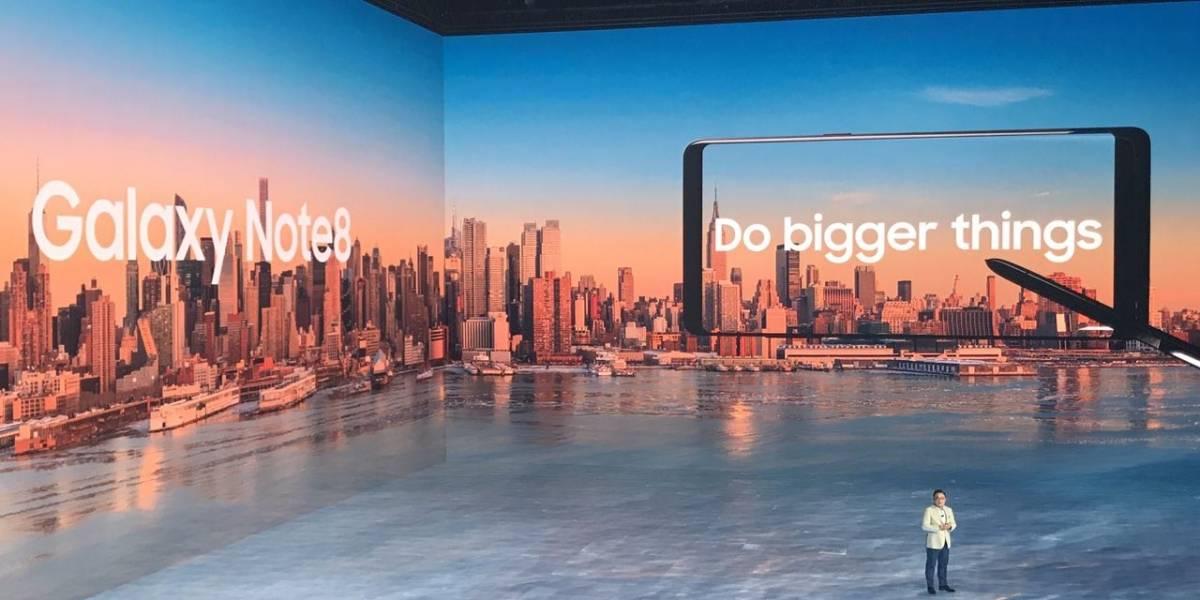 Samsung presenta oficialmente el Galaxy Note 8