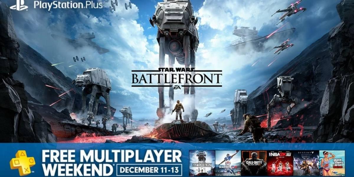 PS4 tendrá multijugador online gratis durante el fin de semana