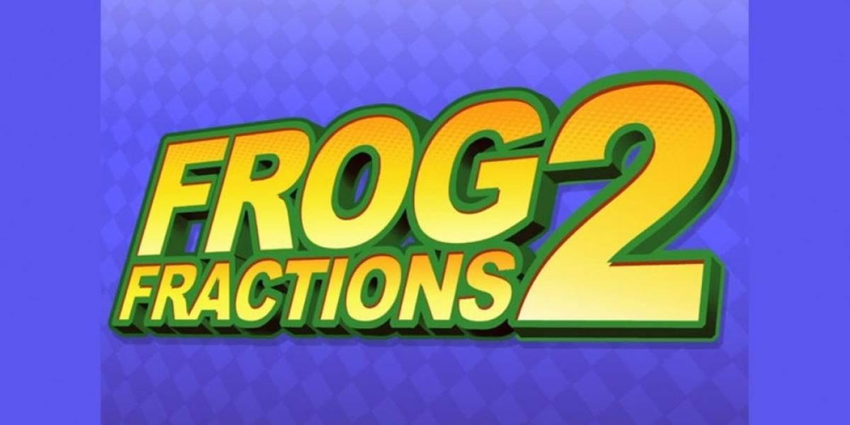 Frog Fractions 2 finalmente es descubierto