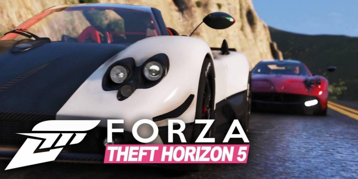 Recrean el tráiler de lanzamiento de Forza Horizon 2 en GTA V