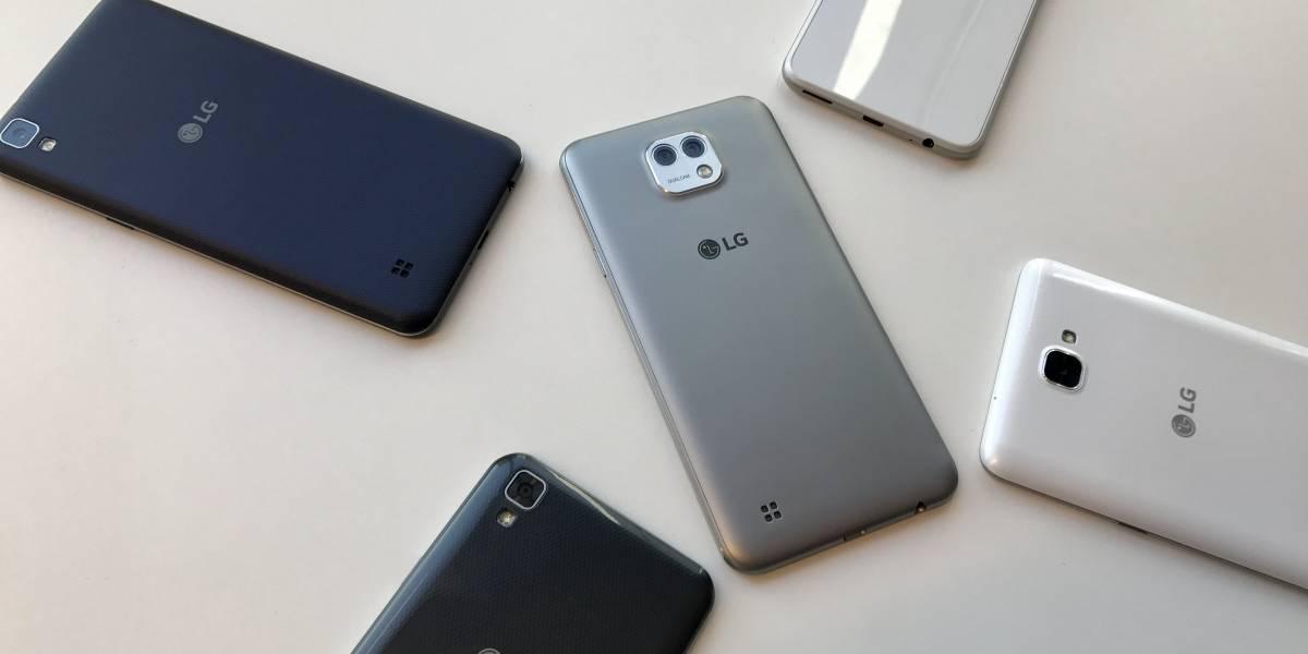 Cinco para dominarlos a todos: Conoce a la gama X de LG